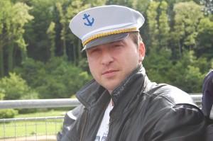 Typický kapitán Německé ponorky