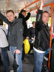 Naše jízda tramvají