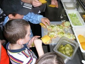 Každý si mohl vyzkoušet přípravu pokrmu
