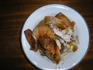 Dundee měl dietní kuře.........