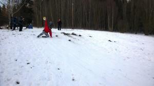 A jako neúspěšný PET lyžař (petky od kofoly)