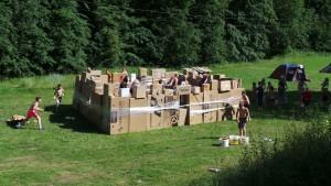 Začínáme s první plánovanou hrou: dobývání hradu