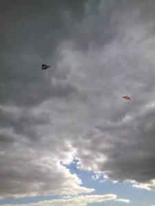 A tady už jsou první draci ve vzduchu.